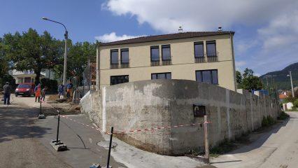 Stavba zoborskej fary (185/336)
