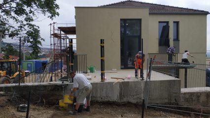 Stavba zoborskej fary (245/336)