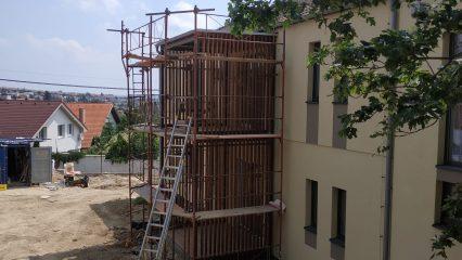 Stavba zoborskej fary (251/336)