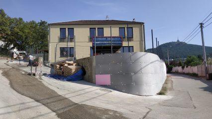 Stavba zoborskej fary (286/336)