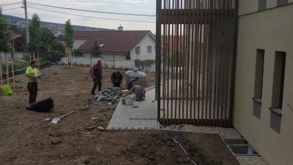 Stavba zoborskej fary (321/336)